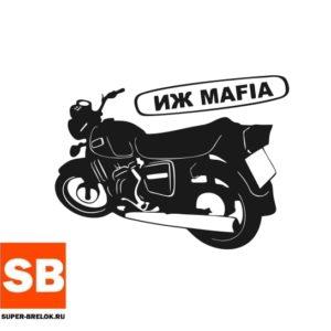 Наклейка для авто ИЖ Mafia