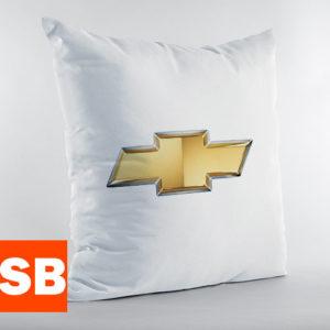 Подушка с логотипом Chevrolet (Шевроле)