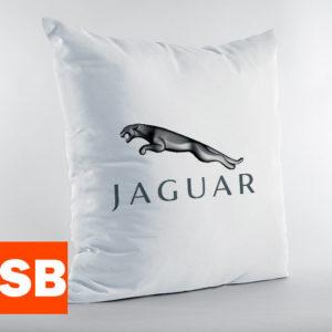 Подушка с логотипом Jaguar