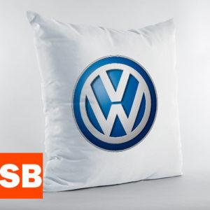 Подушка с логотипом фольксваген