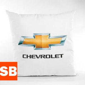 Печать логотипа на подушке