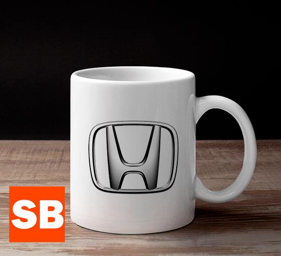 Кружка с логотипом Honda