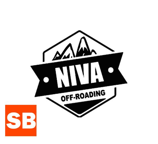 Наклейка Niva off-roading