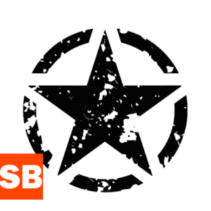 Наклейка US Army Used Star